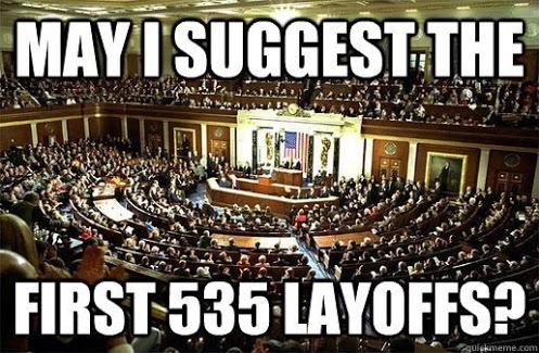 535 Layoffs