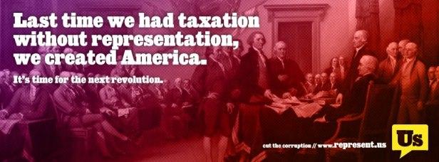 Represent US